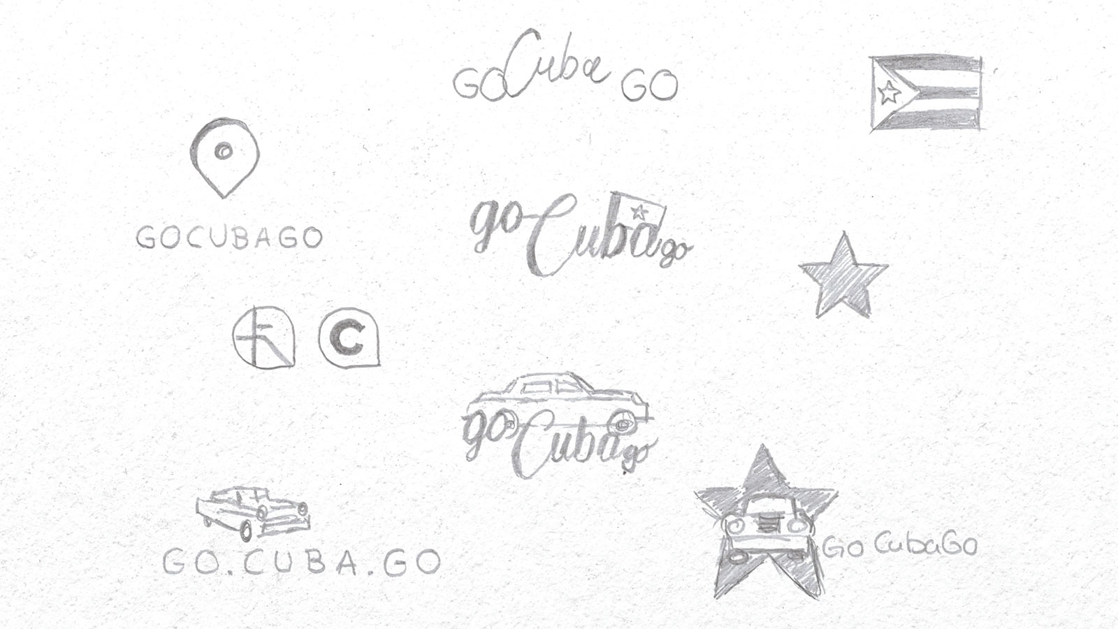 Go Cuba Go | gocubago.com | 2018 (Logo Scribble) © echonet communication GmbH