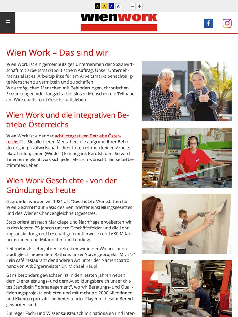 Wien Work | wienwork.at | 2016 (Tablet Only 01) © echonet communication